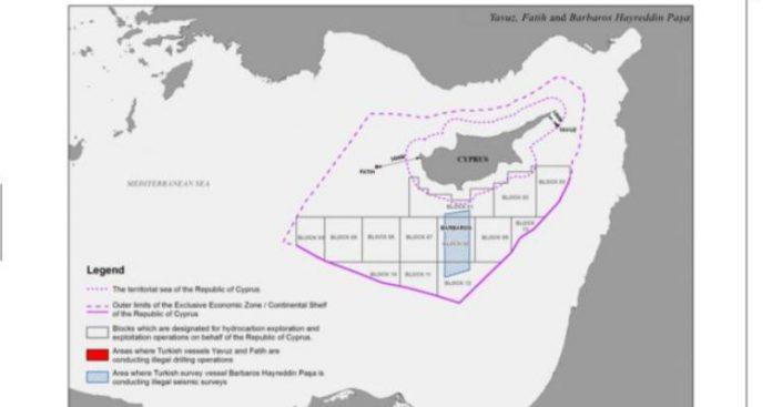 Κύπρος προς ΟΗΕ: Η Τουρκία μας περικύκλωσε - Ένας σημαντικός χάρτης, Νίκος Μελέτης