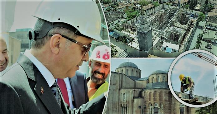 Βυζαντινά μνημεία στην Τουρκία θύμα της οικοδομικής υστερίας του Ερντογάν, Γιάννης Θεοχάρης
