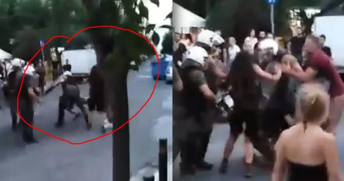 Φασιστική επίθεση της αστυνομίας στο Κουκάκι - Έξαλλοι οι τουρκίστες