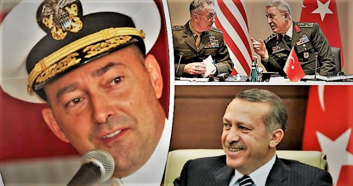 Έλληνας ναύαρχος συνήγορος του Ερντογάν!, Βαγγέλης Γεωργίου