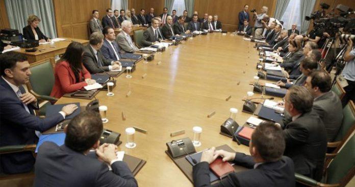 Υπουργικό Συμβούλιο: Οδηγίες Μητσοτάκη προς