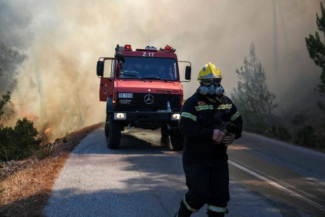 Πυρκαϊά στην Κυπαρισσία και στον Άραξο - Υπό έλεγχο η δεύτερη