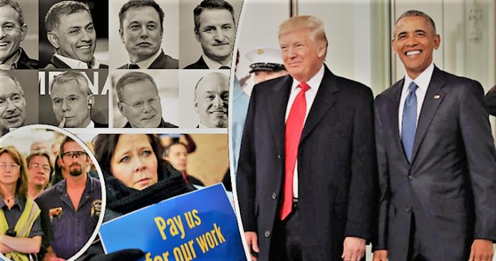 Πρίγκηπες και πληβείοι στις ΗΠΑ - Έρευνα για τις απίστευτες διαφορές μισθών, Βαγγέλης Γεωργίου