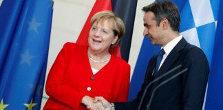 Η πιο εύκολη συνάντηση της Μέρκελ με Έλληνα πρωθυπουργό, Σπύρος Γκουτζάνης
