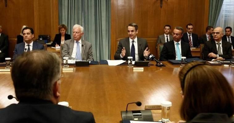 Σε εξέλιξη η συνεδρίαση του υπουργικού συμβουλίου