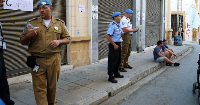 Οι στρατιώτες του ΟΗΕ άπραγοι θεατές των τουρκικών κινήσεων!, Κώστας Βενιζέλος