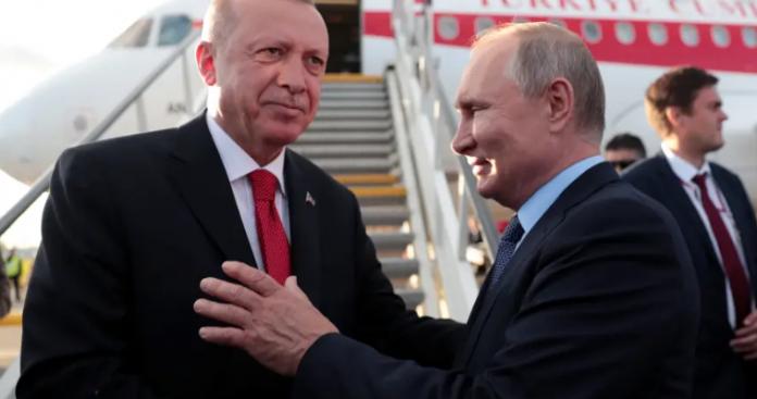 Ιράν, Λιβύη, Συρία, στην ατζέντα των συνομιλιών Πούτιν-Ερντογάν