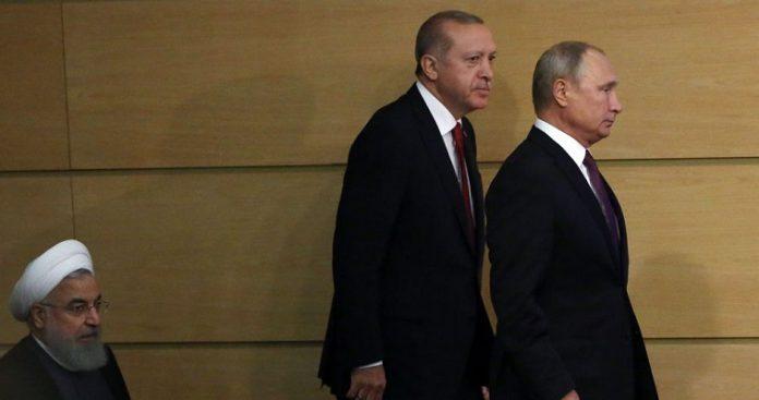 """Η τύχη του Ερντογάν στο Σότσι και οι """"βόμβες"""" Πομπέο-Βερολίνου, Βαγγέλης Σαρακινός"""