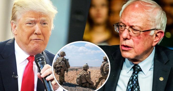 Ο πασιφιστής Σάντερς θέλει παραμονή αμερικανικών στρατευμάτων στη Συρία, Βαγγέλης Γεωργίου