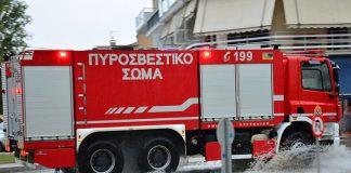 Φωτιά σε κτίριο στην Κυψέλη