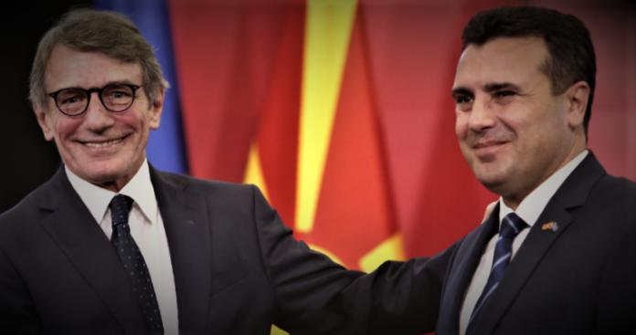 Ποιές αλήθειες απέκρυψε ο Sassoli στην επίσκεψή του στα Σκόπια, Βαγγέλης Γεωργίου