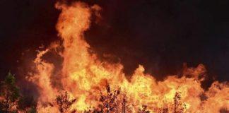 Πυρκαγιά στην Ικαρία,