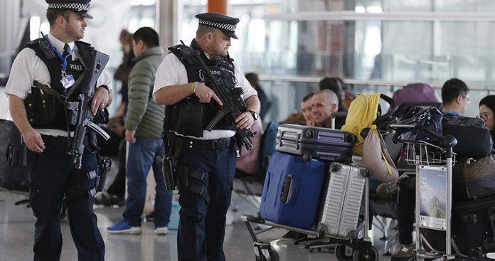 Σύλληψη υπόπτου για τρομοκρατία στο Χίθροου