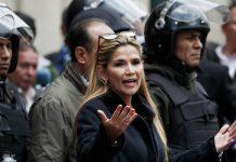 «Να λογοδοτήσει ο Μοράλες» θέλει η μεταβατική πρόεδρος