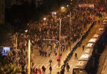 Ολοκληρώθηκε η πορεία του Πολυτεχνείου στην Αθήνα, επεισόδια στην Πάτρα