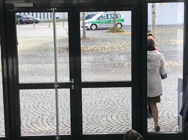 1. Η παρουσία της Γερμανικής αστυνομίας στο επιστημονικό συνέδριο