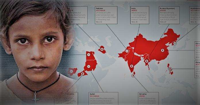 Έκθεση-σοκ για διώξεις χριστιανών σε 73 χώρες - 11 φόνοι κάθε ημέρα