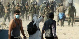 Ιράκ: Στο στόχαστρο διαδηλωτών ΗΠΑ και Ιράν