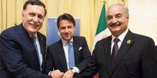 Η Ιταλία εγκαταλείπει την κυβέρνηση Σαράζ , Δημήτρης Δεληολάνης
