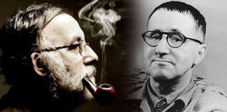 """Ο Θάνος, ο Μπρεχτ, ο Μαγιακόφσκι και το """"κακόηθες μελάνωμα"""", Βαγγέλης Σαρακινός"""