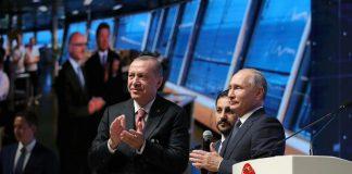 Πούτιν και Ερντογάν εγκαινίασαν τον αγωγό Turkish Stream