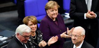 Ιστορική ομιλία του προέδρου του Ισραήλ στην Bundestag