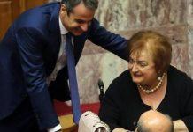 Δεν ψηφίζει η Μαριέττα Γιαννάκου διάταξη για τους χρήστες ναρκωτικών ουσιών