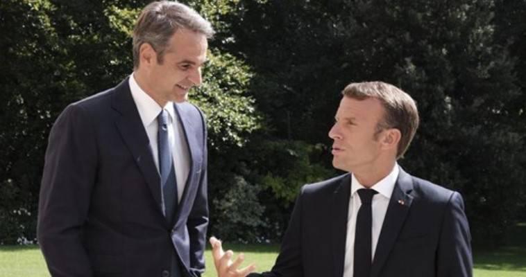 Ο Μητσοτάκης στο Παρίσι - Κοινός βηματισμός Ελλάδας-Γαλλίας στη Μεσόγειο, Νεφέλη Λυγερού