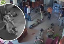 Βίντεο ντοκουμέντο - Τούρκοι αξιωματικοί βιαιοπραγούν εναντίον συναδέλφων τους