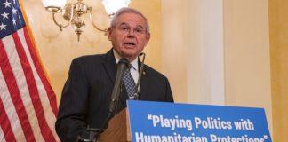 Ο γερουσιαστής Μενέντεζ σώζει την τιμή των ΗΠΑ - «Πρόβλημα μόνο η Τουρκία» , Μιχάλης Ιγνατίου