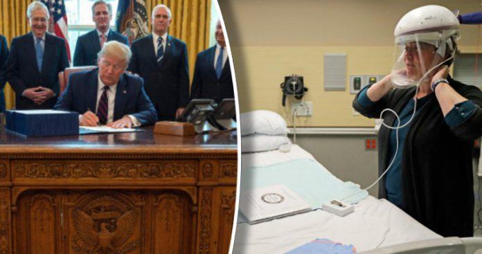 Τα τρισεκατομμύρια του CARES Act και τα αντανακλαστικά του Τραμπ, Αντωνία Δήμου