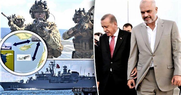 Στο πλευρό της Τουρκίας το αλβανικό ναυτικό – Έκθετη η Αθήνα