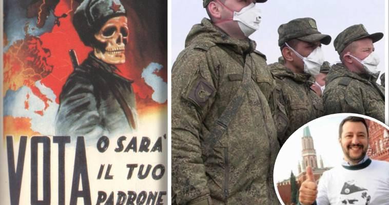 Οι Κοζάκοι ξανάρχονται στην Ιταλία – Επιστροφή στον Ψυχρό Πόλεμο, Δημήτρης Δεληολάνης