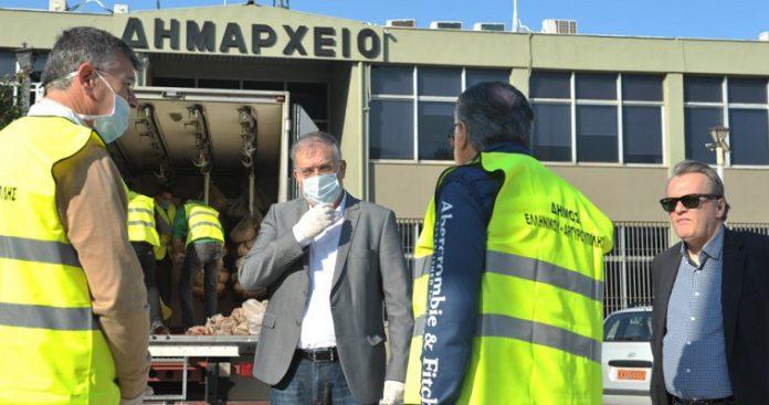 Επίσκεψη του υπουργού Εσωτερικών στο δημαρχείο Αργυρούπολης-Ελληνικού