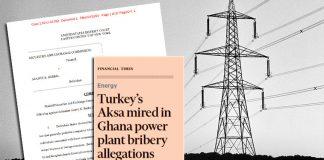 Τουρκικό μπαχτσίσι για εργολαβίες στην Γκάνα, Αλέξανδρος Μουτζουρίδης