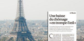 Οφθαλμαπάτη η μείωση της ανεργίας στη Γαλλία – Τα χειρότερα είναι μπροστά