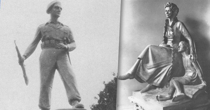 ΓλΠροπαγανδιστικά γλυπτά που θίγουν την ιστορική μνήμη, Δημήτρης Παυλόπουλος