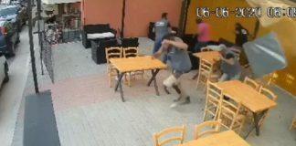 (Βίντεο) Χάρη στα ρεφλέξ τους, δεν έπεσε ντεπόζιτο στο κεφάλι τους