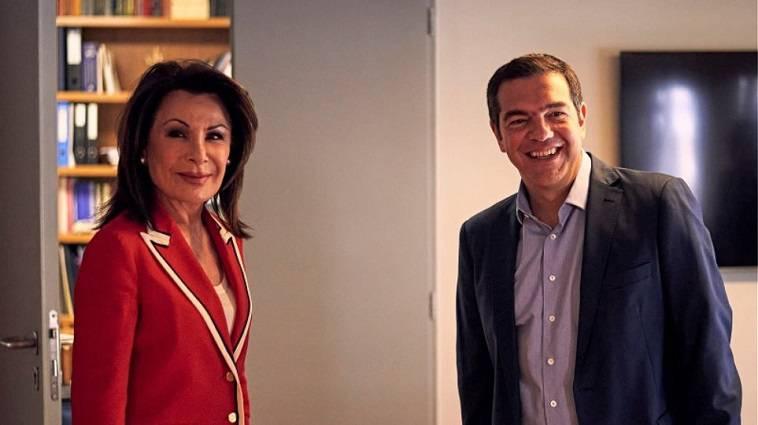 Ο πρόεδρος του ΣΥΡΙΖΑ συναντήθηκε με την επικεφαλής του «Ελλάδα 2021»