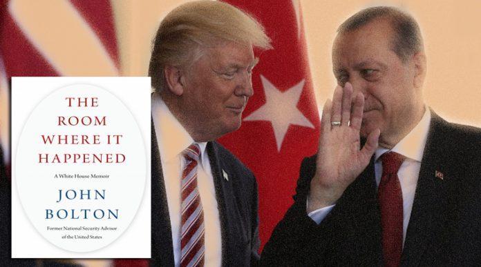 Τι αποκαλύπτει ο Μπόλτον για την ανοίκεια σχέση Τραμπ-Ερντογάν, Αλέξανδρος Μουτζουρίδης