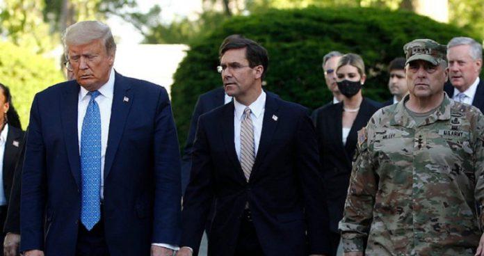 Διχάζει η απόφαση Τραμπ για εμπλοκή του στρατού – Αντίθετο το Πεντάγωνο, slpress