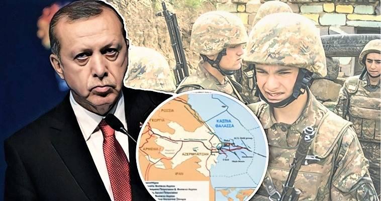 Φωτιά βάζει ο Ερντογάν στο Ναγκόρνο-Καραμπάχ – Στα πρόθυρα πολέμου Αρμενία-Αζερμπαϊτζάν