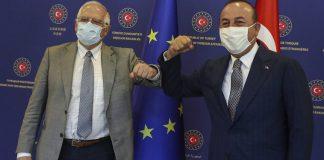 Ο α λα τούρκα διάλογος του Τσαβούσογλου και η α λα Μπορέλ ευρωπαϊκή αλληλεγγύη, Βαγγέλης Σαρακινός