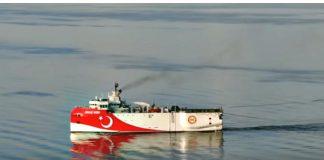 Τουρκικά τσαλίμια με αλλαγή πορείας του Oruc Reis και προκλήσεις, slpress