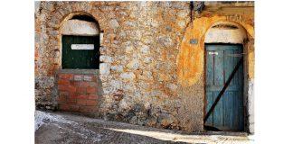 Παίζοντας με τα χρώματα στο Λιθί της Χίου, Νίκος Ζάππας