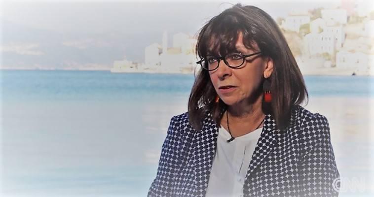 Τα φάουλ της Σακελλαροπούλου με το CNN, Βαγγέλης Γεωργίου