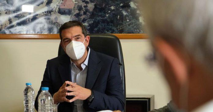 Επίθεση Τσίπρα σε Μητσοτάκη για τη διαχείριση του κορονοϊού