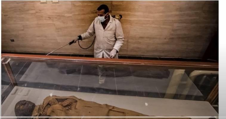 Σε έξαρση η μάχη για τις μούμιες στην Αίγυπτο, Γεώργιος Λυκοκάπης