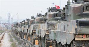 Τουρκικά Leopard IIA4 της 1ης Στρατιάς