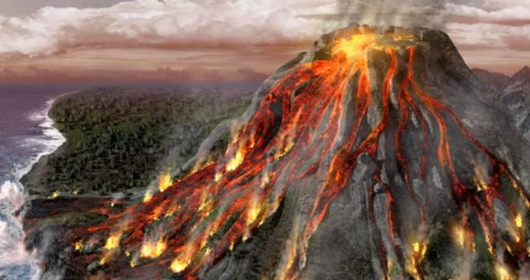 Η έκρηξη του ηφαιστείου της Θήρας και ο κατακλυσμός του Δευκαλίωνος,Γιώργος Ηλιόπουλος